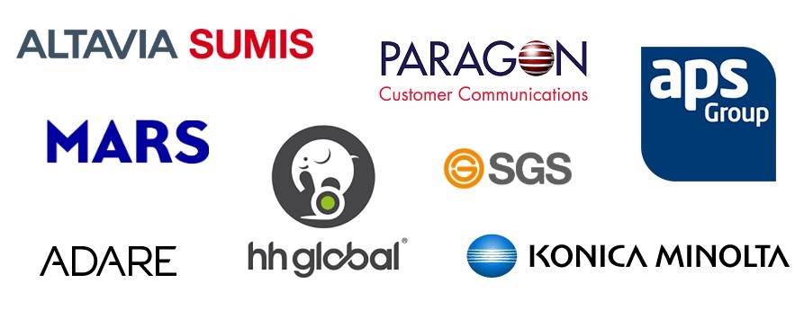 Een greep uit de opdrachtgevers die hun sales vacatures bij SMS Intermediair neerleggen.